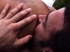 Hairy daddies steamy orgy