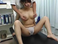 Busty Japanese girl gets abusive treatment from her doctor