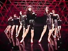 molten Korean women dance softcore