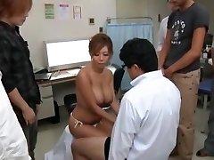 Exotic Japanese chick Kairi Uehara in Awesome Big Melons, Cumshots JAV movie