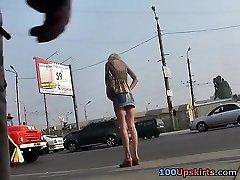 Chinese upskirt spycam action