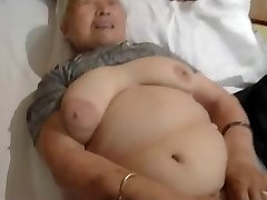 80yr old Japanese Grandmother Still Loves to Plumb (Uncensored)