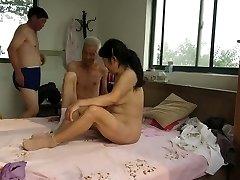 Asian Grandpas in Activity