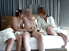 couple share asian escort for swing asiaNaughty part 1