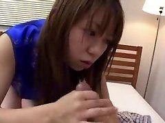 Chinese CFNM Hand Job