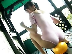 Delightful Japanese kitty Sumire Aihara shows her cameltoe