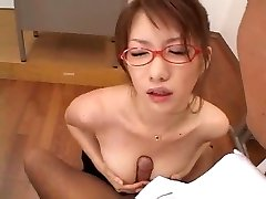 Japanese office worker having lecherism