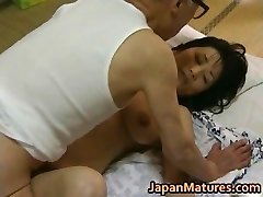 Hot Asian stunner has mature fuckfest