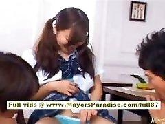 Miyu Hoshino chinese schoolgirl enjoys getting pussy fingered