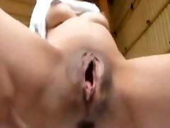 Asian Mature Extraordinary Yam-sized Pussy