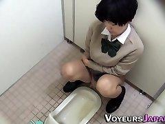 Japanese nubile peeing