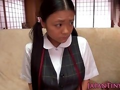 Bashful squirting asian teens tits get jizz flow