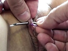 Extraordinary Needle Torture BDSM and Electrosex Screws and Needles