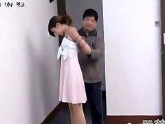 Japanese girl in bondage