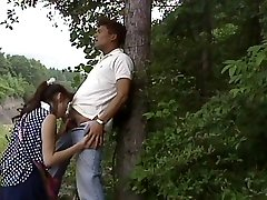Chinese sucking in the wood