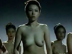 Nude China women  fighting