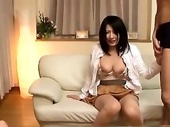 Provocative Japanese Stunner Fucking
