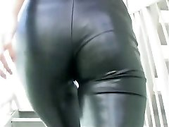 Chinese modelling spandex catsuit