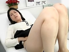 Asian lesbo erotic spitting massage clinic Subtitled