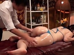 Slimming Rubdown for Big-titted Japanese Wives - 2