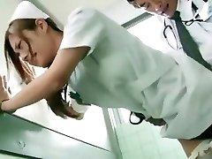 Horny Japanese dame Koi Aizawa in Magnificent Nurse JAV scene