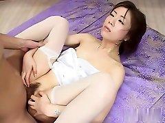 Best Japanese dame in Crazy JAV uncensored Co-ed video