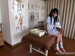 Steamy Asian teen enjoys the art of erotic massage