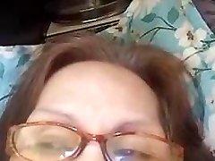Granny Evenyn Santos does anal showcase again.