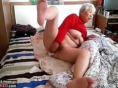 grandma with boy