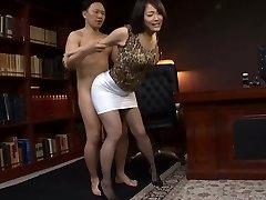 Japanese Office Slut Humped Hard