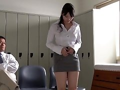JAV starlet Rei Mizuna teacher striptease Subtitles