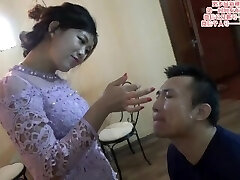 Chinese female domination spit on face