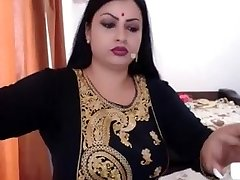 NRI INDIAN WIFE Bare  GETTING DRESSED