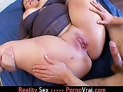 French BBW Tenn Fucked by Giant Pipe