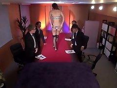 Asuka Kirara Be An Undergarments Model. (English subbed)