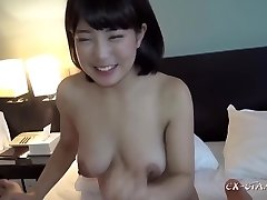 Av Madoka 22 Years Old Short Bobs Monstrous Tits Glamorous Massage Cumshot To Hair Dresser