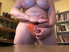 Fat transsexual with hung cock