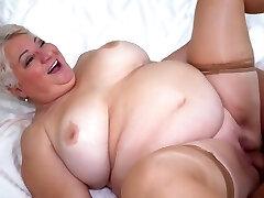 Big Hooters Big Ass Granny Fatty