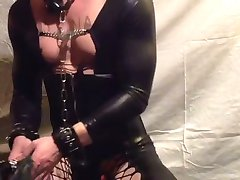 Slave training ordered by Domina Dina