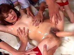 Honami Isshiki gets group banged