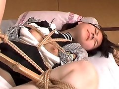 Japanese schoolgirl bondage & sexual assault 01
