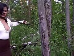 walk in forest bondage