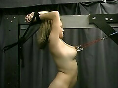 Joleen And Dungeon Marionettes Spanking Sultry Submissives (Part 4)