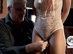 Young slut spanked