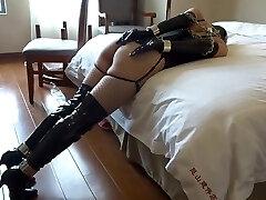 Asian Girl Tape Bondage