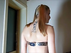 PervyPixie's Tits squashed, mashed and punished!