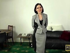 PASCALSSUBSLUTS - Fashionable UK Cougar Belle OHara submits to dom