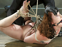 Sahara Rain in Taken To The Next Level - Extreme Suffering, Intense Bondage, And Squirting Ejaculations - SadisticRope