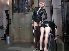 Goddess caning Boots