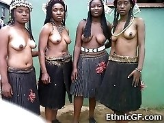 Real African Teen Girlfriends!